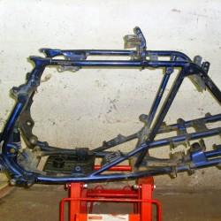 CADRE QUAD 400 LTZ/KFX (BLEU)