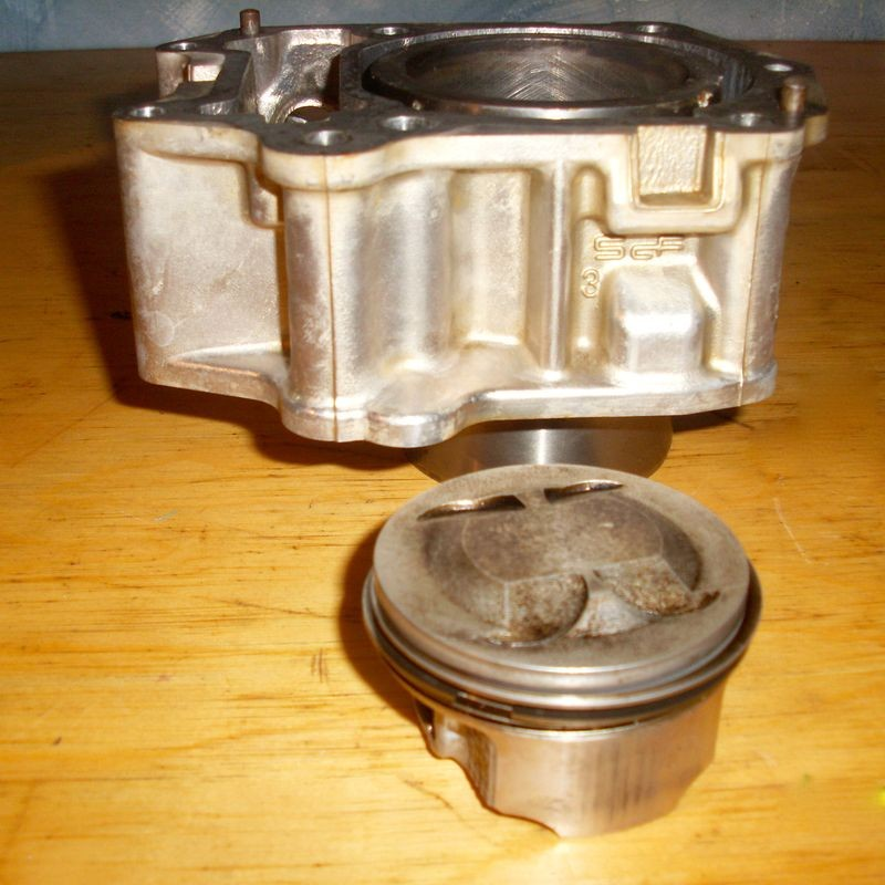 Cylindre  Piston Quad 200 Rally Bombardier  Can Am