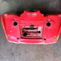 aile avant quad 400 outlander can am (rouge)