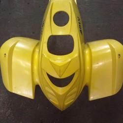 aile avant quad 300 rs interceptor adly (jaune)