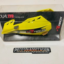 protège main vertigo race tech pour quad & moto ( jaune)